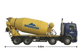 Ready-mixed concrete delivery method